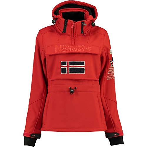 Geographical Norway Chaqueta Softshell DE NIÑA TILSIT Rojo 12