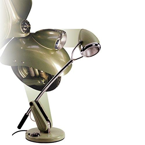 Preisvergleich Produktbild Schreibtischlampe VESPA 50x22x67cm grün Top Faro Basso Hoffmann Design