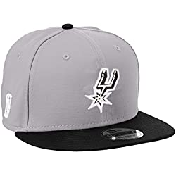 New Era Nba 9Fifty San Antonio Spurs Offical Team Colour, Gorra de Béisbol para Hombre, Gris, Medium