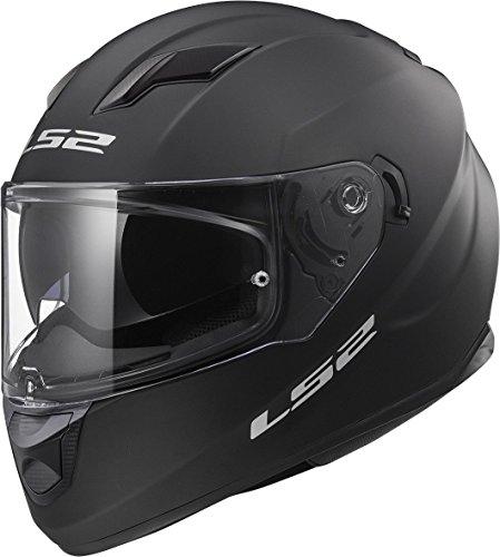 Preisvergleich Produktbild LS2 FF320 Stream Evo Doppel Sonnenblende Full Face Motorradhelm Integralhelme - Mattschwarz L(59-60cm)