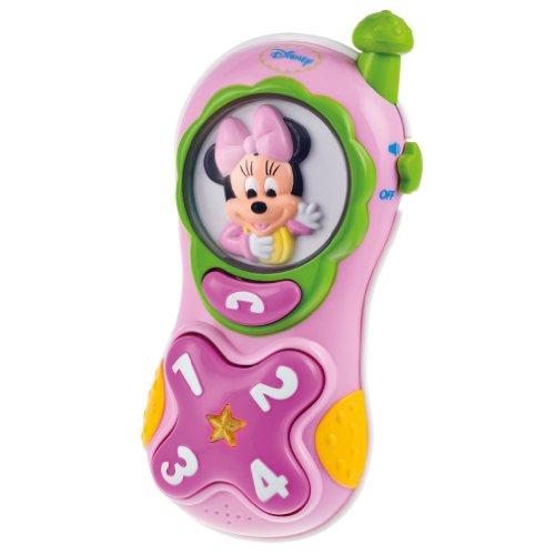 Minnie Mouse - Teléfono móvil Minnie con voz, luces y sonidos (Cleme
