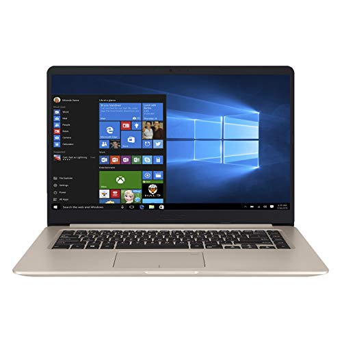 ASUS VivoBook 15 X510QA-EJ102T AMD Quad Core A10-9620P 15.6-inch FHD Thin and Light Laptop (4GB RAM/512GB NVMe SSD/Windows 10/Integrated Graphics/1.70 kg), Gold