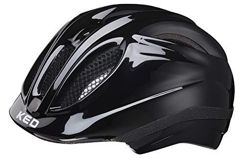 Preisvergleich Produktbild KED Meggy Helmet Kids Black Kopfumfang S / 46-51cm 2019 Fahrradhelm