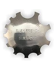 Edge Trimmer Easy French SMILE CUT Metall Schablone Cutter für Acryl UV Gel Modellage