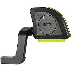 Lixada - Ciclocomputador inalámbrico BT, registro de actividad para bicicleta - Velocidad, cadencia, combo, sensor, velocímetro, Negro