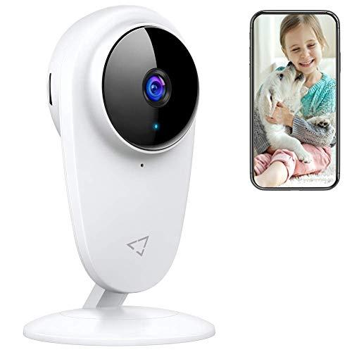 BabyPhone Victure Baby Monitor WLAN Kamera Überwachungskamera Ton/Bewegungserkennung mit Nachtsicht 2-Wege Audio Cloud Service Verfügbar Monitor Baby/Ältere/Haustiere kompatibel mit IOS/Android