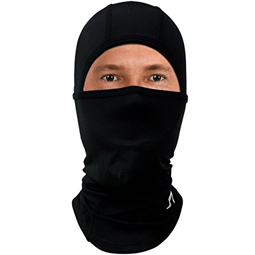 Balaclava Compression Face Mask - Best Wind, Cold & UV Protection For Men/ Women CompressionZ Test