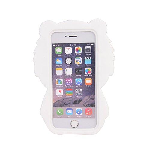 iPhone 7 (4.7 inches) Hülle,COOLKE 3D Fashion Klassische Karikatur weiche Silikon Shell Schutzhülle Hülle case cover für Apple iPhone 7 (4.7 inches) - 015 005