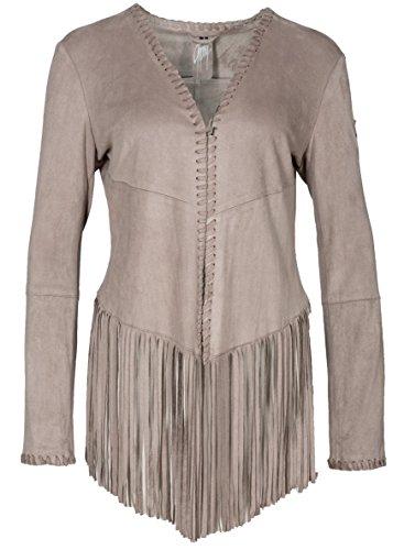 Gipsy Damen Weste Wildleder Vintage 70er Jahre Style Salva SL (M)
