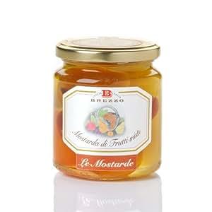 Italian Handmade Sweet and Sour Mustard (Mix Fruit 380 Gr)