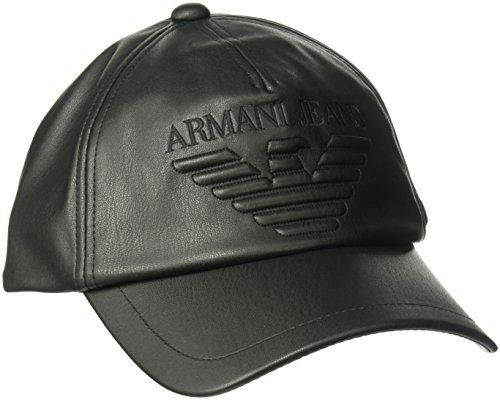 Mans–Cap–schwarz (Armani Mütze Hut)