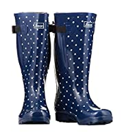 Extra Wide Calf Wellies for Women - Widest Fit Wellington Boots in UK - Fit 40 to 57cm Calf - Wide in The Foot and Ankle - 5 Designs