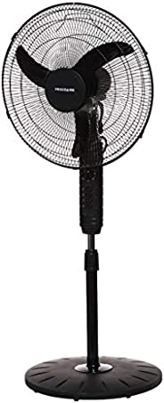 """Frigidaire Electric Pedestal stand Fan FD9011, 65W, Black, 18"""" with Oscillation, 3 Speed Selection, Motor"""