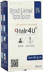 Hair 4U 5% Topical Solution (60 ml), from LifeLine Medicos