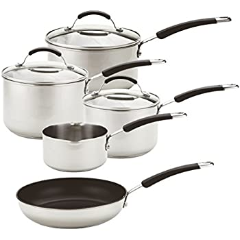 Circulon Premier Professional Saucepan and Frypan Set of 5