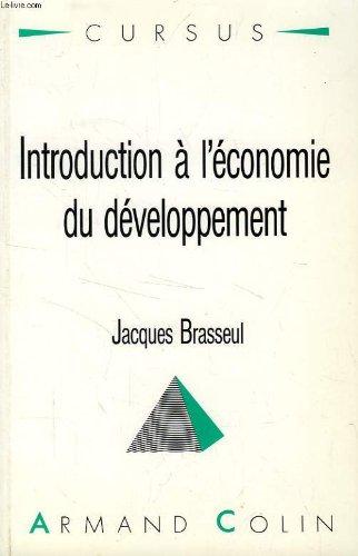 Introduction à l'économie du développement
