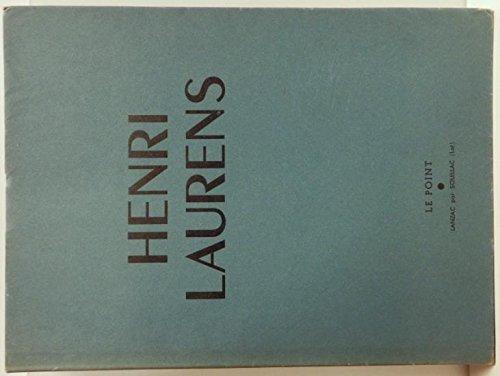 Le Point revue artistique et littraire. Henri Laurens. n 33 juillet 1946.