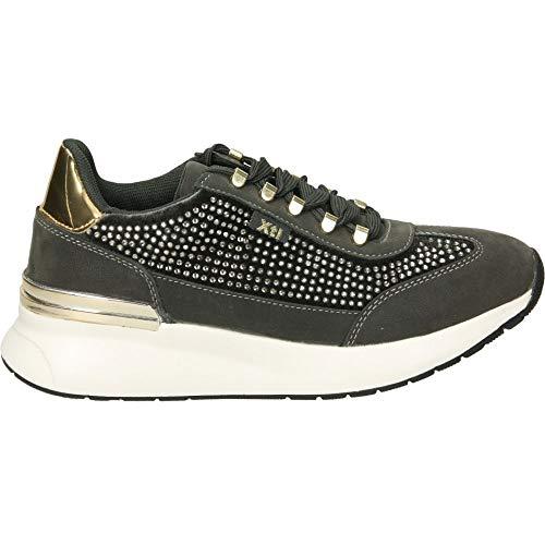 XTI Damen 49506 Sneakers, Grau Gris, 41 EU
