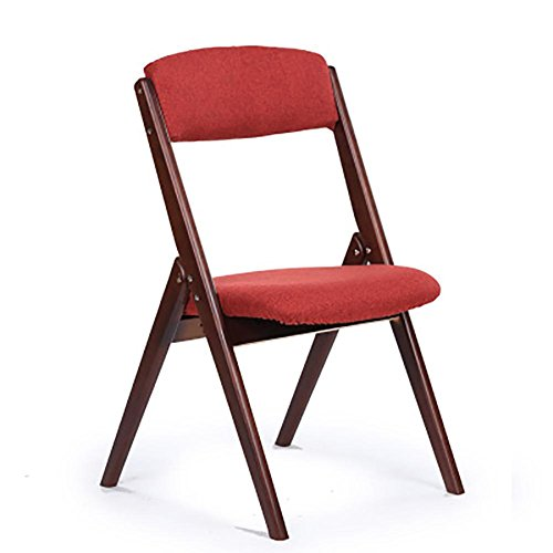 SFZMRYLSY Klappbarer Stuhl aus Faltbarer Stuhl Arc Design Essensstuhl Rückenlehne Stuhl Freizeit...