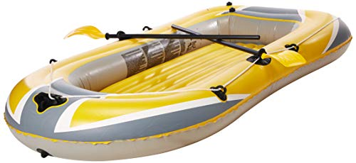 """Bestway \""""Hydro-Force Raft Set\"""" Boot 255x127cm mit Blasebalg und 2 Rudern"""