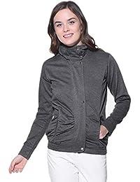 Purys Grey Winter Fleece Jacket