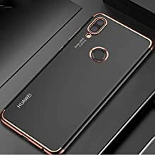Zore Huawei P20 Lite Dört Köşeli Lazer Rose Gold Cep Telefonu Kılıfı