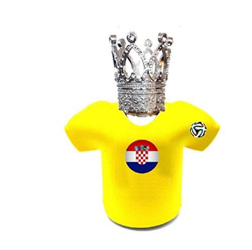 VIO World Cup National Gruppe Edelstahl Cup Geschenk Crown T-Shirt Kaffeetasse...