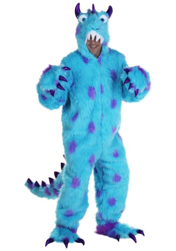 (Adult Sullivan the Monster Fancy dress costume X-Small)