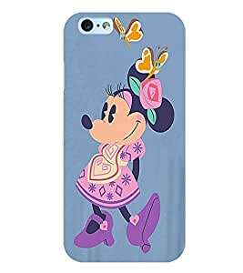 Citydreamz Minnie Mouse/Cartoon/Dots/Cute Hard Polycarbonate Designer Back Case Cover For Apple Iphone 5/5S