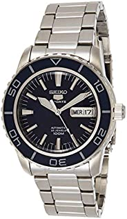 Seiko Mens Automatic Watch, Analog Display and Stainless Steel Strap SNZH53K1