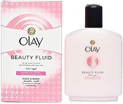 Olay Beauty Fluid Normal/Dry/Combo Face & Body Moisturiser (100ml)