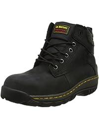Industrial Gunaldo, Chaussures de sécurité Adulte Mixte - Noir - 41 EUDr. Martens