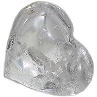 budawi® - Handschmeichler Herz bauchig aus Bergkristall 74 x 67 mm, Edelsteinherz XL preisvergleich bei billige-tabletten.eu