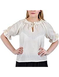 Amazon.es: camisa medieval: Ropa