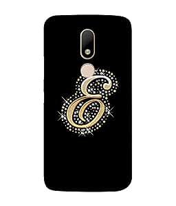 Fuson Designer Back Case Cover for Motorola Moto M (Dancing Disco Dancer Alphabet Dazzling)