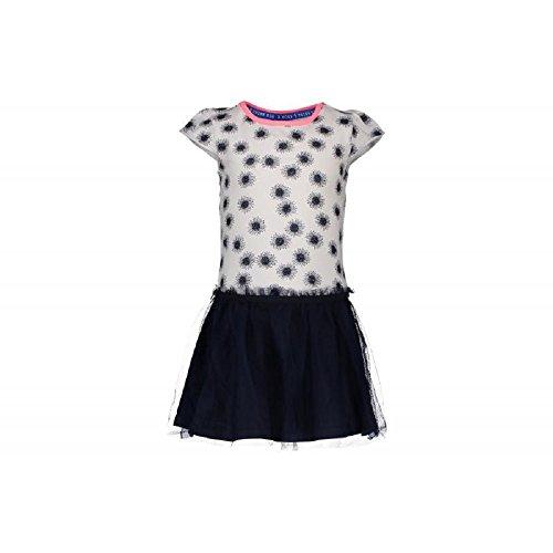 n Sommer Kleid Tütü kurzarm white/navy (110/116) (Tutus Für Teens)