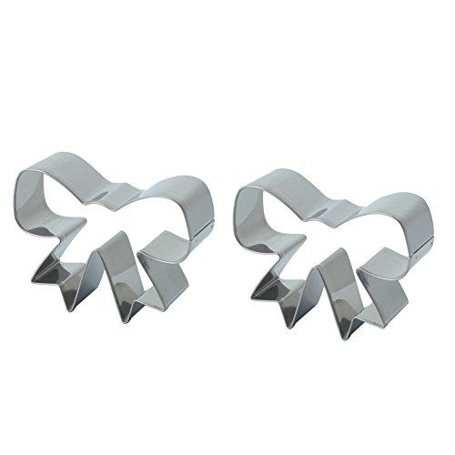 2Pcs Cookie Cutters Plätzchenformen Kuchen Form Backformwerkzeug Ausstechformen