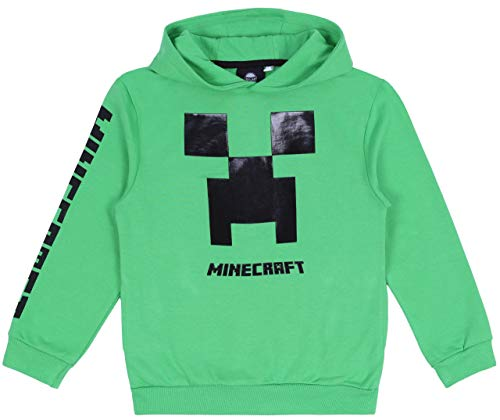 Grünes T-Shirt Minecraft 10-11 Jahre 146 cm - Kopf Grün T-shirt