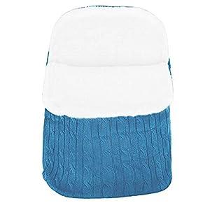 laamei Manta de Invierno para Bebé Recién Nacido Manta Envolvente Saco de Dormir Swaddle Diseño Universal y Multifunción…