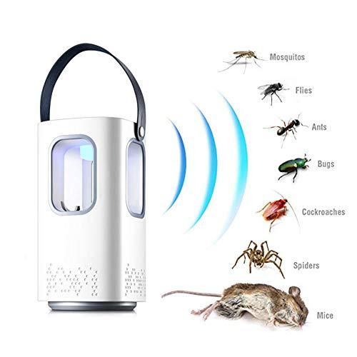 YOLE Ultraschall-Abwehrmittel - Premium Scaccia Anti-Moskito Tropical Mäuse - Abwehr gegen Parasiten Ratten Fliegen Kakerlaken Spinnen Ameisen Ameisen Fliegende Kakerlaken Anti-Mücken