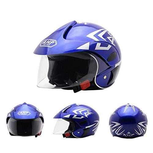 lds Multi-Sport Kinderhelm Elektrisches Motorrad Harley Halber Helm Langlebig Sicherheit Ideal Für Skateboard Bike BMX Und Stunt Scooter ()