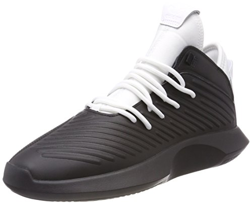 new products b5bdf 58ab8 adidas Mens Crazy 1 ADV Trainers, Core BlackFootwear White 0, 7 (