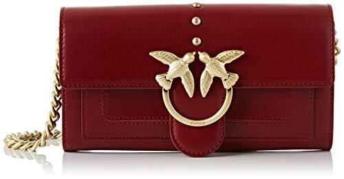 Pinko houston wallet, portafoglio donna, rosso (dark red), 3x12x19 cm (w x h x l)