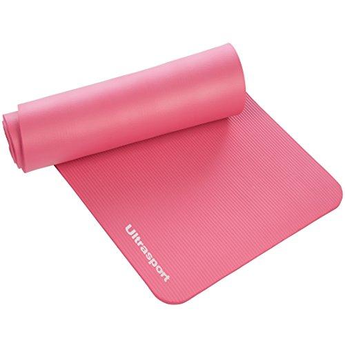 Ultrasport Esterilla de gimnasia, yoga, fitness, 190 x 60 x 1,5 cm, Ro