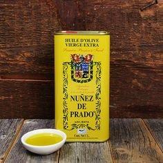Nuñez de Prado Extra Virgin Olive Oil 1000ml Kanister gelb (Extra Natives Olivenöl)