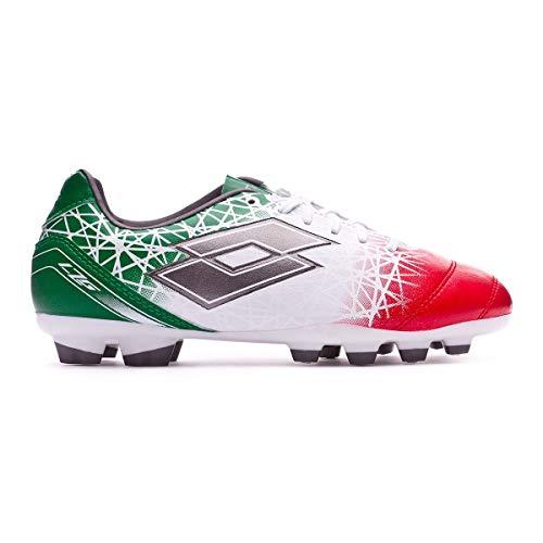 4968b1df4 Lotto Lzg 700 X FG Jr, Chaussures de Football Mixte Enfant, Blanc (WHT