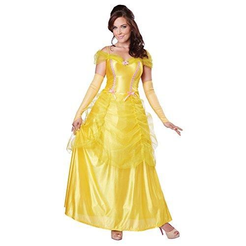 Disney Prinzessin Belle Kostüm Für Erwachsene - Unbekannt Aptafêtes-CS929639/XL-Kostüm, Prinzessin Belle-Größe