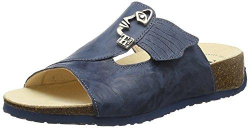 Think Damen Mizzi Pantoletten, Blau (Saphir/Kombi 90), 38 EU
