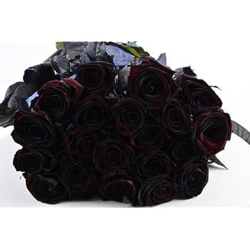 blumenstrau schwarze rose mit 10 schwarze rosen und. Black Bedroom Furniture Sets. Home Design Ideas