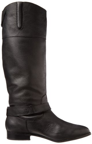 Dolce Vita Channy Cuir Botte Black Leather